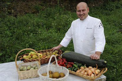 El chef del Barrigón de Bertín, Alberto Asensio.