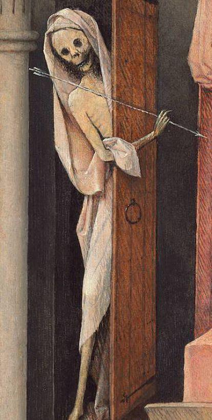 Detalle de 'La muerte y el avaro', de El Bosco.