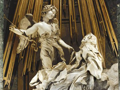Éxtasis de Santa Teresa, de Gian Lorenzo Bernini.
