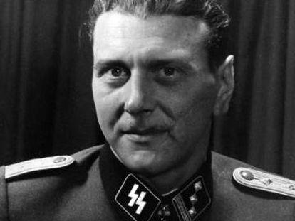 El oficial alemán de las SS Otto Skorzeny, en 1943.