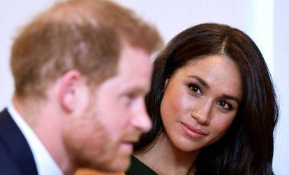 El príncipe Harry y su esposa, Meghan Markle, el pasado octubre en Londres.