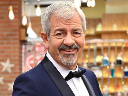 Carlos Sobera, en el plató de 'First Dates'.