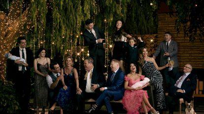 Foto promocional de la undécima temporada de 'Modern family'.