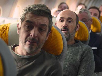 Ricardo Darín y Javier Cámara, en 'Truman'.