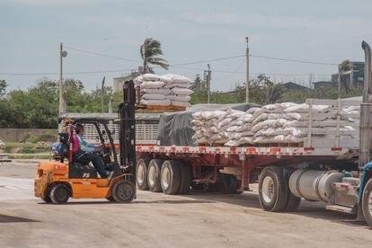 La empresa petroquímica Monómeros, con sede en Barranquilla (Colombia), en una imagen de archivo.