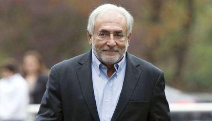 El exdirector del FMI, Dominique Strauss-Kahn, el pasado octubre.