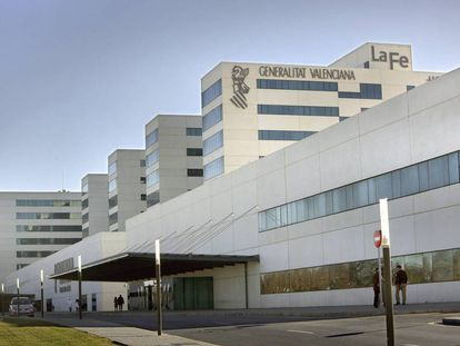 El Hospital La Fe de Valencia.