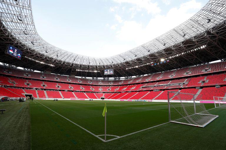 Imagen del Puskas Arena, de Budapest, sede de la final de la Supercopa de Europa.