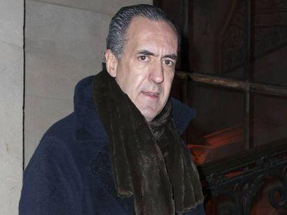 Jaime de Marichalar en la Semana de la Moda de Paris en 2017.
