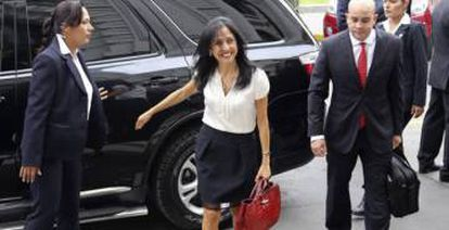 La ex primera dama del Perú, Nadine Heredia.