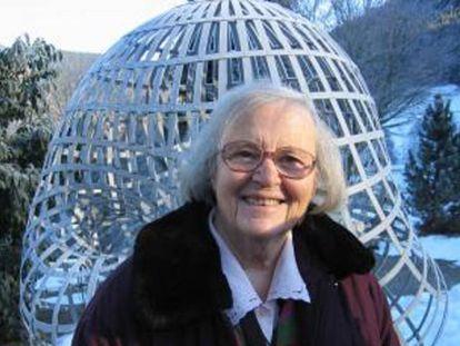 La matemática francesa Yvonne Choquet-Bruhat, en una imagen tomada en 2006.