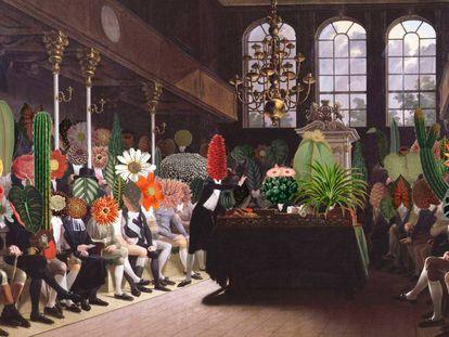 'Parlamento de las plantas', de la paisajista francesa Céline Baumann.