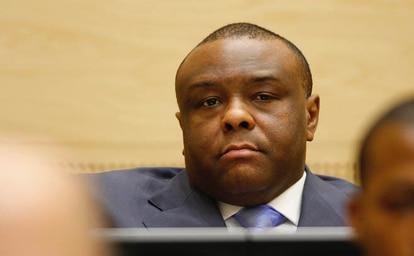 Jean Pierre Bemba ante la CPI / Foto CPI