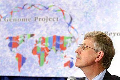 Francis Collins, al anunciar ayer en Washington que la secuencia del genoma humano ya está completa.