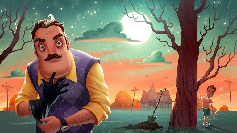 Imagen del videojuego 'Hello Neighbor'.