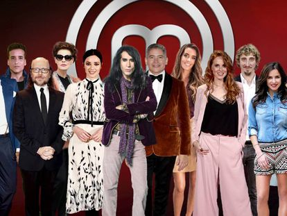 Los concursantes de 'MasterChef Celebrity 3'.