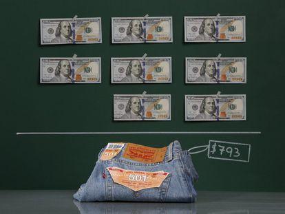 En Caracas un par de pantalones vaqueros Levis 501, cuestan 793 dólares, de promedio, equivalente a 4.999 bolívares. El tipo de cambio oficial es de 6,3 bolívares por dólar.