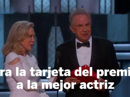 Ganadores Oscars 2017.
