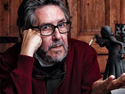 El exlibrero y comisario de la BCNegra, Paco Camarasa, en 2017.