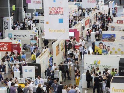 El evento South Summit, celebrado en Madrid, marco del Enlighted.