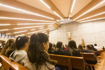 Funeral en Santiago por Asunta