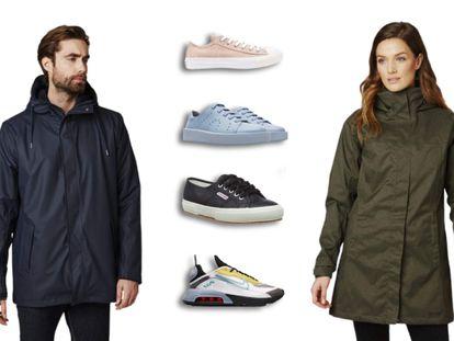 Chaquetas de abrigo y zapatillas de distintos estilos están entre los artículos de moda y calzado, de grandes marcas, rebajados por Black Friday.