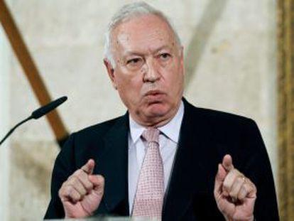 El Ministro de Exteriores, José Manuel García Margallo.