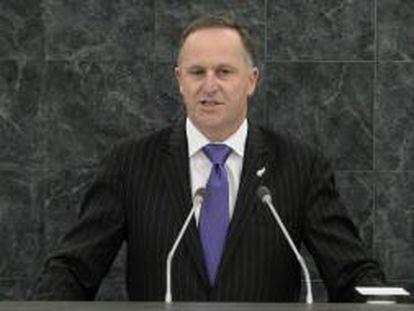 En la imagen, el primer ministro de Nueva Zelanda John Key. EFE/Archivo