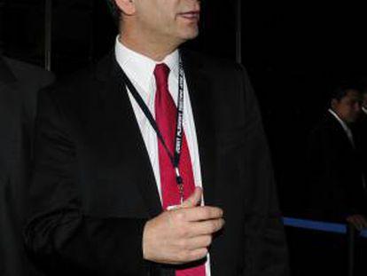 En la imagen, el ministro de Justicia de Argentina, Julio Alak. EFE/Archivo