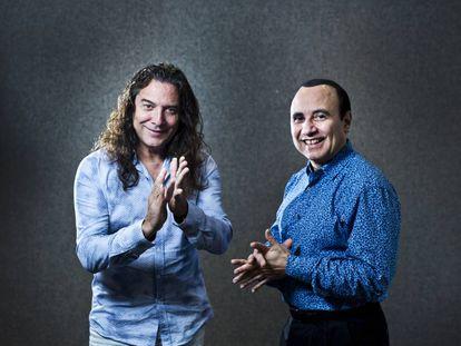 Tomatito, a la izquierda, y Michel Camilo, a la derecha.