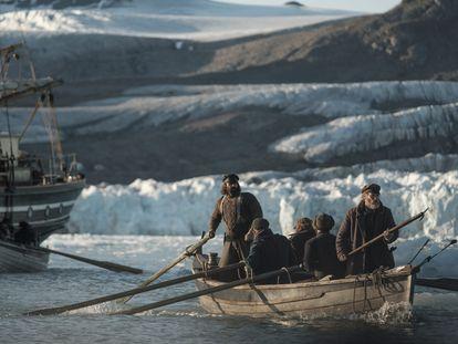 Una imagen de la serie 'La sangre helada'.