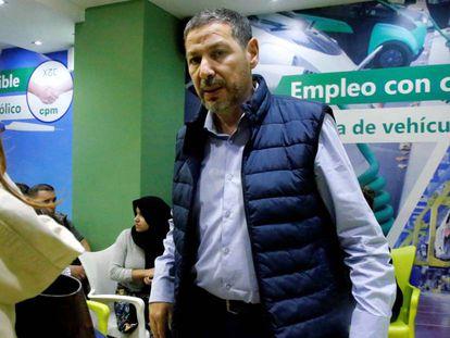 El presidente de Coalición por Melilla (CPM), Mustafa Aberchán.