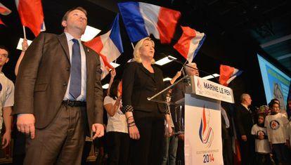 Acto de campaña del Frente Nacional para las municipales.