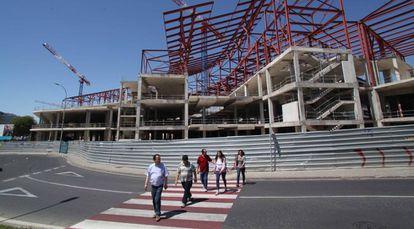 Centro Comercial de Metrovacesa, en Reus (Tarragona).