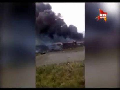Comienza en Ucrania la recogida de los restos del fuselaje del MH17