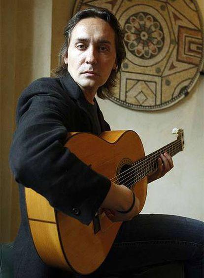 El guitarrista Vicente Amigo.