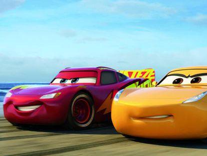 Imagen de 'Cars 3'.