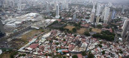 Crecimiento de la ciudad de Panamá.