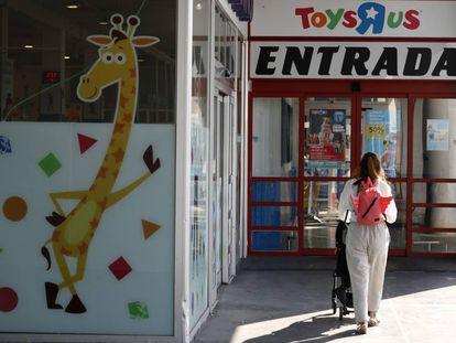 Una tienda de Toys 'R' Us en Madrid.