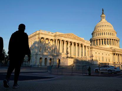 El Capitolio de Washington, este sábado.
