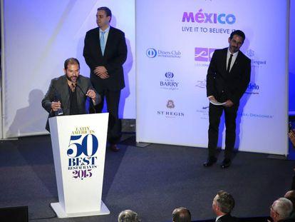 Un momento de la ceremonia de los 50 Mejores Restaurantes de América Latina de 2015.