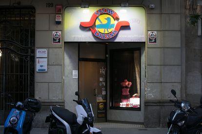 El 'sex shop' Show Dreams de Barcelona.