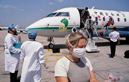 Alerta sanitaria en 2003 por el Síndrome Respiratorio Agudo y Grave (SARS).