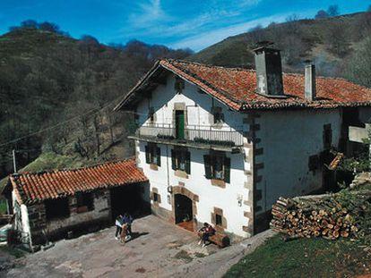 Casa rural en Beartzun (Navarra).