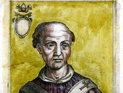 Retrato del papa Juan XII.