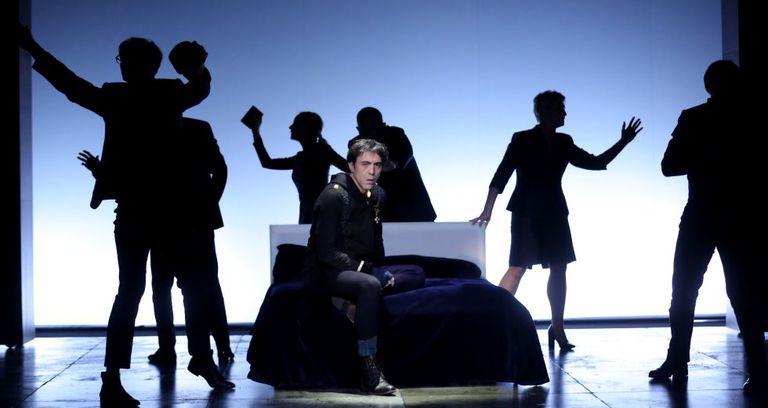 Israel Elejalde, en un momento de 'Hamlet'.