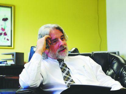 El ministro de Educación costarricense, Leonardo Garnier, el pasado mes de julio