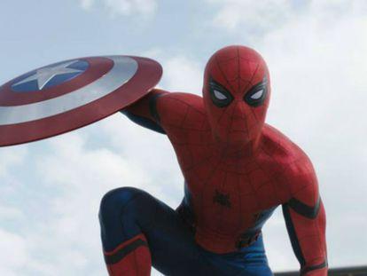 Spiderman se une a Los vengadores en 'Capitán América: Civil War'