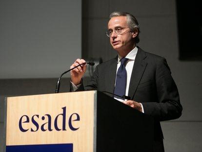 El presidente del Círculo de Economía, Javier Faus.