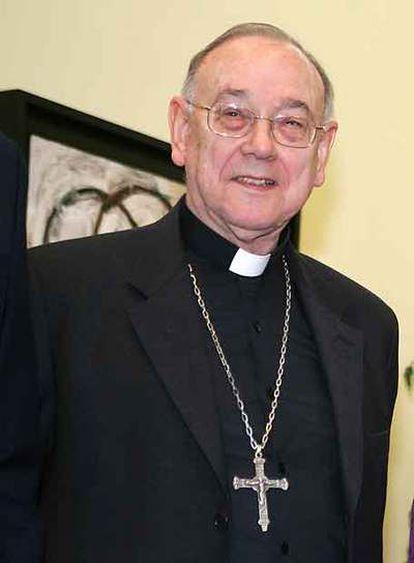 El arzobispo de Pamplona, Fernando Sebastián.